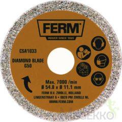 Ferm CSA1033 Diamant-cirkelzaagblad G50 Diameter:54.8 mm