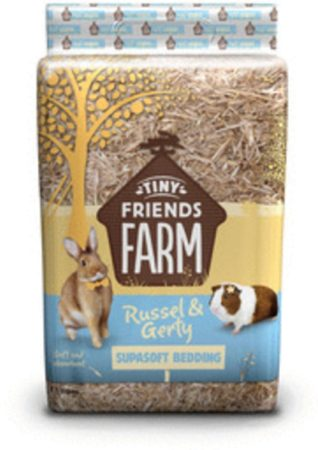 Afbeelding van Supreme Tiny Friend Farm Russel And Gerty Supasoft Bedding - Bodembedekking - 2 kg