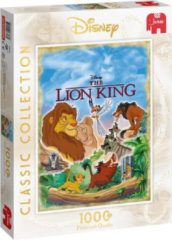 Blauwe Jumbo Disney Classic Collection Lion King Premium Collection Puzzel 1000 Stukjes