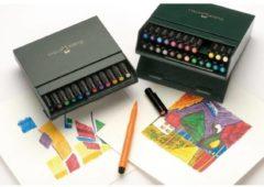 Faber Castell Tekenstift Faber-Castell Pitt Artist Pen Brush 24-delig Studiobox