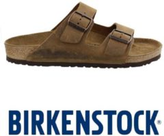 Birkenstock Heren Slippers Arizona Heren - Bruin - Maat 43