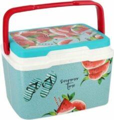 Gerimport Koelbox Meloen 5 Liter 29 X 27,5 Cm Blauw/rood