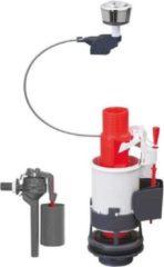 WIRQUIN WC-mechanisme 3/6 messing met kabel + laterale vlotterklep Topy 3/8 messing