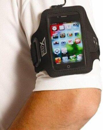 Afbeelding van Red-x Iphone 5 Armband Zwart