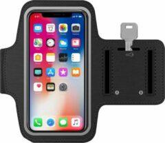 Telefoonstar Sport Armband voor iPhone hardlopen Spatwatervrij, Reflecterend / Neopreen / Comfortabel / Verstelbaar / Koptelefoon / Aansluitruimte en Sleutelhouder - Zwart 1