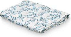Blauwe Cam Cam inleg matrasje voor verschoonmand - verschoonmatje Fiori