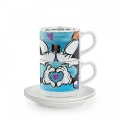 Egan Disney set tassen cafe blauw
