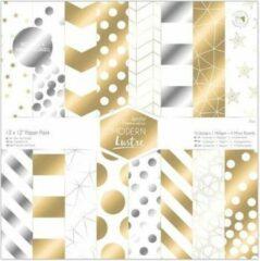 Docraft 12 x 12 Inch Papierpak (36 pak) - Modern Lustre