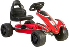 Feber Pedalkart 82.4x51x49 cm Rood/Zwart