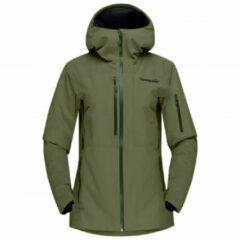 Norrøna - Women's Lofoten Gore-Tex Insulated Jacket - Ski-jas maat S, olijfgroen
