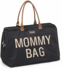 Childhome Mommy Bag Groot Black Gold Mommy Bag Zwart Goud