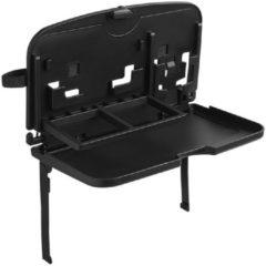 Zwarte Proplus reistafel / speeltafel / autotafel aan hoofdsteun