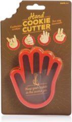 Suck Uk Uitsteekvorm Hand 9,5 X 10,5 Cm Rood