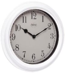 Witte Balance Wall Clock 35 cm Analogue White