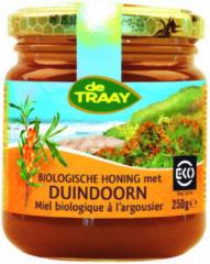 Honing met duindoorn De Traay - Pot 250 gram - Biologisch