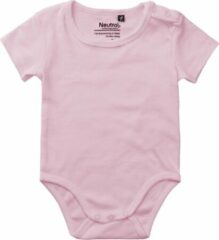 Roze Neutral® organic babyrompertje