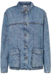 NOISY MAY gemêleerd spijkerjasje blauw