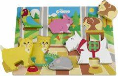 Tidlo Huisdieren Puzzel, 6 Stukjes