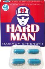 Hard Man - Erectiepillen voor echte mannen - 4 Stuks