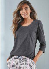 Grijze Vivance Dreams Vivance collection shirt met 3/4-mouwen