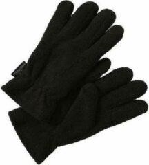 Zwarte Thinsulate Handschoenen fleece zwart maat 11