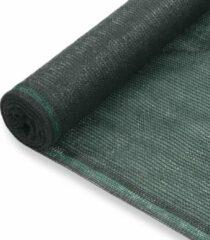 VidaXL Tennisnet 1x50 m HDPE groen