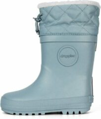 Druppies Regenlaarzen Gevoerd - Winter Boot - Lichtblauw - Maat 34