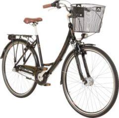 28 Zoll Viking Prelude Citybike Stadt Fahrrad Licht 3 Gang Nexus Schwarz
