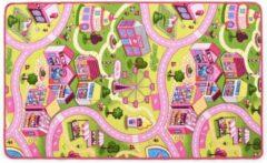 Paarse Forbabies Speelkleed Snoep Stad 100 x 165 cm