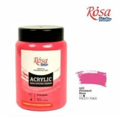 Roze Rosa Studio Acrylverf 400 ml 422 Rose