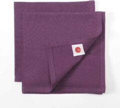 TINT UNI SET 2 SERVETTEN 45X45 PRUNE/PLUM