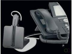 Plantronics CS540 + HL10 Telefoonheadset DECT Draadloos, Mono In Ear Zwart, Zilver