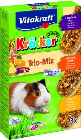 Afbeelding van Vitakraft Cavia Kracker 3in1 - Knaagdiersnack - Honing&Popcorn&Active
