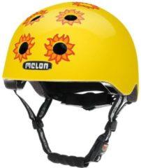 Melon Story Bloomy Fietshelm - Maat XL/2XL (58-63 cm) - Geel