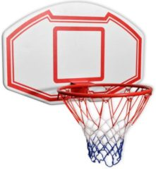 Witte VidaXL Basketbal achterpaneel set wandgemonteerd 90x60 cm