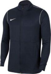 Donkerblauwe Nike Dri-FIT Park Meisjes/Jongens Sportvest - Obsidian/White/White - Maat L