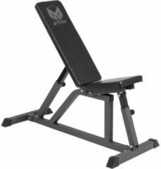 Grijze Gorilla Sports Fitnessbank - Verstelbaar - Belastbaar tot 200 kg