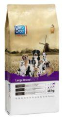 Carocroc Large Breed - Hondenvoer - Vlees Granen Gevogelte 15 kg - Hondenvoer