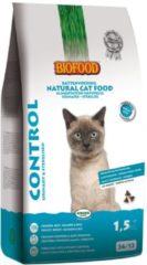 4x Biofood Kattenvoer Control 1,5 kg