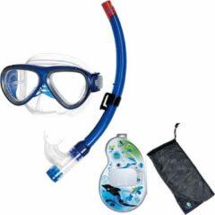Blauwe IST Masker en Snorkelset voor Kinderen
