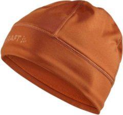 Oranje Craft Core Essence Thermal Cap - Bruin - maat S/M