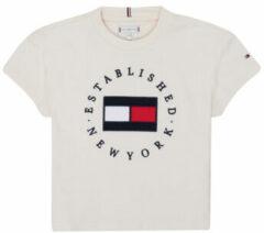 Beige T-shirt Korte Mouw Tommy Hilfiger KG0KG05503-Z00-J