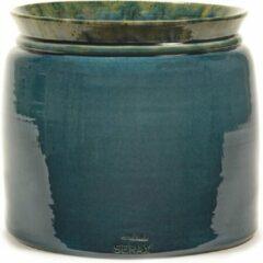 Serax Bloempot Reactive Blue Blauw-Donker Blauw D 30 cm H 26 cm