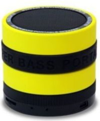 Conceptronic Wireless Bluetooth Super Bass Speaker gelb