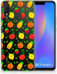B2Ctelecom Huawei P Smart Plus TPU Hoesje Design Fruits