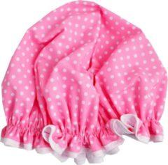 Roze Vagabond Traditionele Engelse Douchemuts - Pink Spot