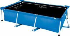 Comfortpool Pro - Solarzeil/Afdekzeil Rechthoekig Zwembad - Geschikt voor zwembaden van 300 x 200 cm - Zwart
