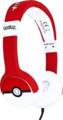 Rode Pokémon - Pokéball Icon koptelefoon