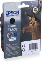 Zwarte Epson Stag inktpatroon Black T1301 DURABrite Ultra Ink