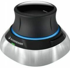 3Dconnexion SpaceMouse Wireless 3D-muis Radiografisch Zwart, Zilver